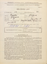 Popis prebivalstva 31. 3. 1931<br />Ljubljana<br />Topniška ulica 10<br />Population census 31 March 1931