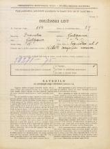 Popis prebivalstva 31. 3. 1931<br />Ljubljana<br />Topniška ulica 8<br />Population census 31 March 1931