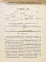 Popis prebivalstva 31. 3. 1931<br />Ljubljana<br />Trdinova ulica 8<br />Population census 31 March 1931