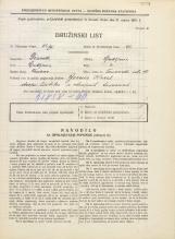 Popis prebivalstva 31. 3. 1931<br />Ljubljana<br />Trnovska ulica 11<br />Population census 31 March 1931