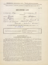 Popis prebivalstva 31. 3. 1931<br />Ljubljana<br />Trnovska ulica 12<br />Population census 31 March 1931