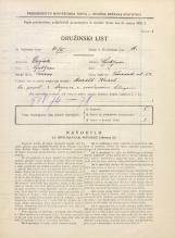 Popis prebivalstva 31. 3. 1931<br />Ljubljana<br />Trnovska ulica 13<br />Population census 31 March 1931