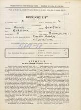 Popis prebivalstva 31. 3. 1931<br />Ljubljana<br />Trnovski pristan 14<br />Population census 31 March 1931