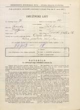 Popis prebivalstva 31. 3. 1931<br />Ljubljana<br />Trnovski pristan 26<br />Population census 31 March 1931