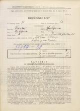 Popis prebivalstva 31. 3. 1931<br />Ljubljana<br />Trnovski pristan 28<br />Population census 31 March 1931