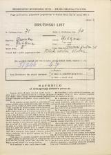 Popis prebivalstva 31. 3. 1931<br />Ljubljana<br />Trnovski pristan 38<br />Population census 31 March 1931