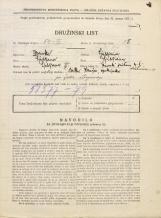 Popis prebivalstva 31. 3. 1931<br />Ljubljana<br />Trnovski pristan 4<br />Population census 31 March 1931