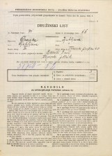 Popis prebivalstva 31. 3. 1931<br />Ljubljana<br />Trnovski pristan 40<br />Population census 31 March 1931
