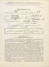 Popis prebivalstva 31. 3. 1931<br />Ljubljana<br />Tržaška cesta 12<br />Population census 31 March 1931