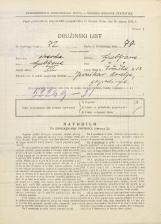 Popis prebivalstva 31. 3. 1931<br />Ljubljana<br />Tržaška cesta 13<br />Population census 31 March 1931