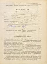 Popis prebivalstva 31. 3. 1931<br />Ljubljana<br />Tržaška cesta 24<br />Population census 31 March 1931