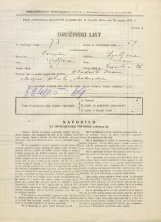 Popis prebivalstva 31. 3. 1931<br />Ljubljana<br />Tržaška cesta 26<br />Population census 31 March 1931