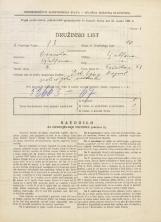 Popis prebivalstva 31. 3. 1931<br />Ljubljana<br />Tržaška cesta 43<br />Population census 31 March 1931