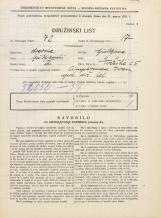 Popis prebivalstva 31. 3. 1931<br />Ljubljana<br />Tržaška cesta 5<br />Population census 31 March 1931