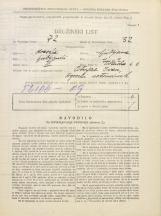 Popis prebivalstva 31. 3. 1931<br />Ljubljana<br />Tržaška cesta 6<br />Population census 31 March 1931