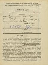 Popis prebivalstva 31. 3. 1931<br />Ljubljana<br />Tržna ulica 6<br />Population census 31 March 1931