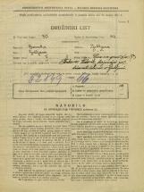 Popis prebivalstva 31. 3. 1931<br />Ljubljana<br />Ulica na grad 13<br />Population census 31 March 1931
