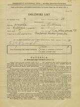 Popis prebivalstva 31. 3. 1931<br />Ljubljana<br />Ulica Stare pravde 25<br />Population census 31 March 1931
