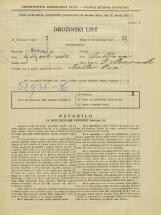 Popis prebivalstva 31. 3. 1931<br />Ljubljana<br />Ulica Stare pravde 3<br />Population census 31 March 1931