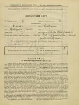 Popis prebivalstva 31. 3. 1931<br />Ljubljana<br />Ulica Stare pravde 6<br />Population census 31 March 1931