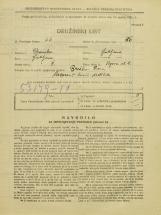 Popis prebivalstva 31. 3. 1931<br />Ljubljana<br />Vegova ulica 4<br />Population census 31 March 1931