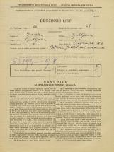 Popis prebivalstva 31. 3. 1931<br />Ljubljana<br />Vegova ulica 6<br />Population census 31 March 1931