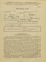 Popis prebivalstva 31. 3. 1931<br />Ljubljana<br />Vegova ulica 8<br />Population census 31 March 1931