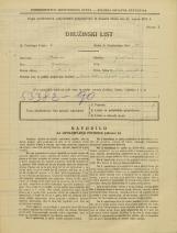 Popis prebivalstva 31. 3. 1931<br />Ljubljana<br />Velika čolnarska ulica 10<br />Population census 31 March 1931