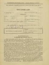 Popis prebivalstva 31. 3. 1931<br />Ljubljana<br />Velika čolnarska ulica 11<br />Population census 31 March 1931