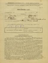 Popis prebivalstva 31. 3. 1931<br />Ljubljana<br />Velika čolnarska ulica 13<br />Population census 31 March 1931
