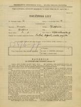Popis prebivalstva 31. 3. 1931<br />Ljubljana<br />Velika čolnarska ulica 19<br />Population census 31 March 1931
