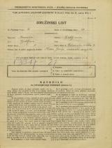 Popis prebivalstva 31. 3. 1931<br />Ljubljana<br />Velika čolnarska ulica 4<br />Population census 31 March 1931