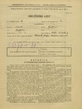 Popis prebivalstva 31. 3. 1931<br />Ljubljana<br />Velika čolnarska ulica 9<br />Population census 31 March 1931