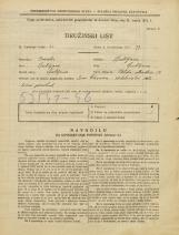 Popis prebivalstva 31. 3. 1931<br />Ljubljana<br />Veliki Stradon 12<br />Population census 31 March 1931