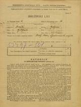 Popis prebivalstva 31. 3. 1931<br />Ljubljana<br />Veliki Stradon 3<br />Population census 31 March 1931