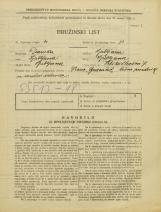 Popis prebivalstva 31. 3. 1931<br />Ljubljana<br />Veliki Stradon 7<br />Population census 31 March 1931