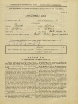 Popis prebivalstva 31. 3. 1931<br />Ljubljana<br />Veliki Stradon 9<br />Population census 31 March 1931
