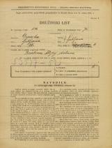 Popis prebivalstva 31. 3. 1931<br />Ljubljana<br />Velikovška ulica 4<br />Population census 31 March 1931