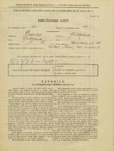Popis prebivalstva 31. 3. 1931<br />Ljubljana<br />Verovškova ulica 28<br />Population census 31 March 1931