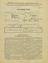 Popis prebivalstva 31. 3. 1931<br />Ljubljana<br />Verovškova ulica 38<br />Population census 31 March 1931