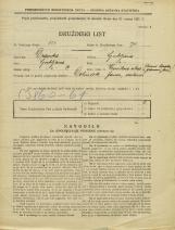Popis prebivalstva 31. 3. 1931<br />Ljubljana<br />Verovškova ulica NN1<br />Population census 31 March 1931