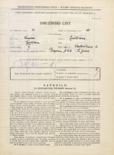 Popis prebivalstva 31. 3. 1931<br />Ljubljana<br />Verstovškova ulica 13<br />Population census 31 March 1931