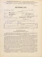 Popis prebivalstva 31. 3. 1931<br />Ljubljana<br />Vidovdanska cesta 12<br />Population census 31 March 1931