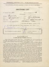 Popis prebivalstva 31. 3. 1931<br />Ljubljana<br />Vidovdanska cesta 2<br />Population census 31 March 1931