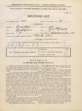 Popis prebivalstva 31. 3. 1931<br />Ljubljana<br />Vidovdanska cesta 22<br />Population census 31 March 1931