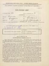 Popis prebivalstva 31. 3. 1931<br />Ljubljana<br />Vidovdanska cesta 4<br />Population census 31 March 1931