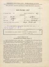 Popis prebivalstva 31. 3. 1931<br />Ljubljana<br />Vidovdanska cesta 5<br />Population census 31 March 1931