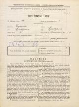 Popis prebivalstva 31. 3. 1931<br />Ljubljana<br />Vidovdanska cesta 6<br />Population census 31 March 1931
