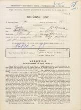 Popis prebivalstva 31. 3. 1931<br />Ljubljana<br />Vilharjeva ulica NN11<br />Population census 31 March 1931