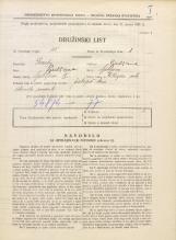 Popis prebivalstva 31. 3. 1931<br />Ljubljana<br />Vilharjeva ulica NN12<br />Population census 31 March 1931